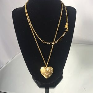 Kate spade magnetic heart locket-a keepsake